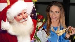 Дядо Коледа кани Цвети на гости