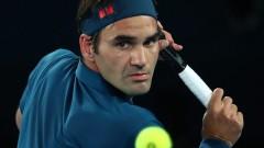 Федерер продължи перфектната си серия срещу Вердаско