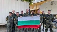 Трета наша свързочна военна група с признание в Афганистан