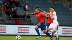 Резервите на Чили биха тези на Сърбия в мач на една врата