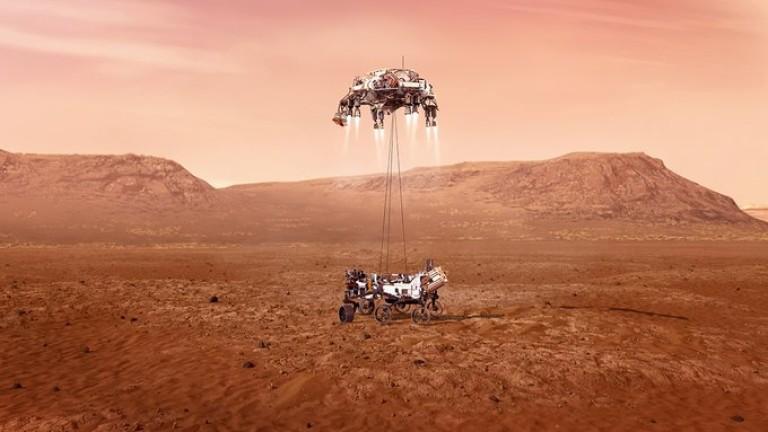 Марс такъв, какъвто не сме го виждали досега