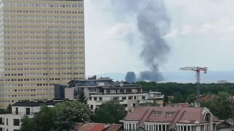 Пожар възникна в столицата. По данни на МВР инцидентът е