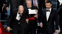 """Грандиозен гаф в края на """"Оскар""""-ите"""