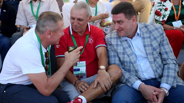 Христо Стоичков: Дойдох да видя как печели Ивет Лалова