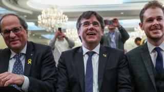 Бившият лидер на Каталуния Пучдемон участва в евроизборите
