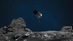 НАСА с опит за вземане на първа проба от астероид