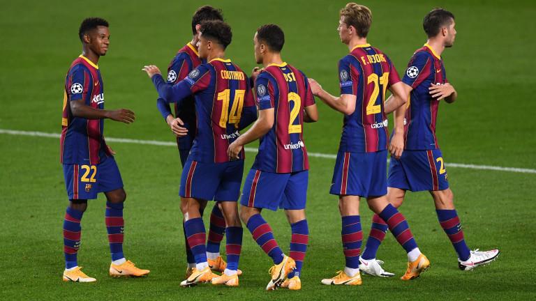 Барселона и Динамо (Киев) ще играят по план