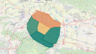 Онлайн карта прогнозира замърсяването на въздуха в София