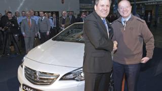 Официално стартира производството на кабриолета Opel Cascada