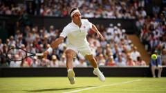 """Роджър Федерер сътвори обрат и е сред най-добрите четири на """"Уимбълдън"""""""