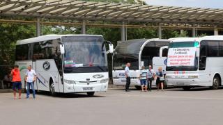 1800 автобуса не потеглиха заради първи протест