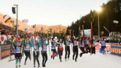 Норвежките биатлонистки спечелиха и четвъртата щафета за сезона