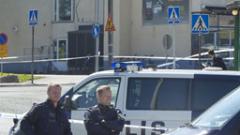 Два изтребителя се сблъскаха във Финландия