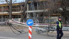 ДНСК не откри проблеми на строежа с падналия кран