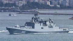 """Руската фрегата """"Адмирал Григорович"""" е готова за бойни задачи в Сирия"""