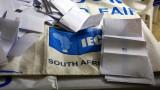 Управляващият Африкански национален конгрес води на проведените избори в ЮАР