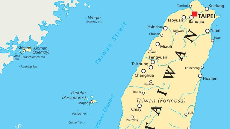 САЩ изпратиха бойни кораби в Тайванския проток