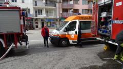 Две деца пострадаха леко при пожар в Благоевград