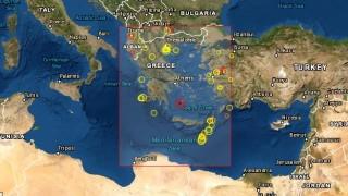 Земетресение 5,1 по Рихтер е регистрирано до Атина