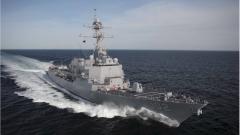 За първи път за 30 г. американски боен кораб акостира в Нова Зеландия