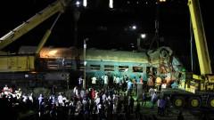 15 загинали и 40 ранени при катастрофа на два влака в Египет