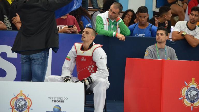 Медалистът от Светвоно първенство в таекуондото Владимир Далаклиев откликна на