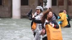 Забавната страна на наводнена Венеция