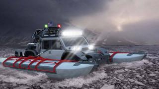 Джип-амфибия се готви за път от Ню Йорк до Париж през Аляска и Сибир (СНИМКИ)