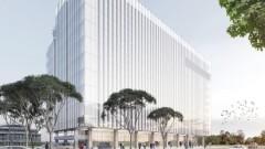 Модерна бизнес сграда израства на мястото на бивша фабрика в Букурещ