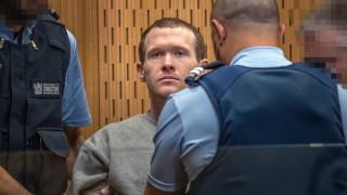 Осъдиха терориста от Крайстчърч на доживотен затвор