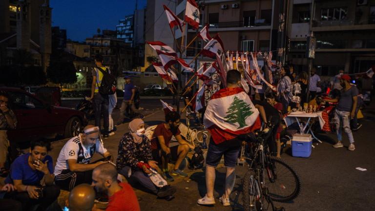 Ливанските сили за сигурност са използвали сълзотворен газ, за да