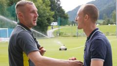 Антон Недялков се запозна с новите си колеги от Лудогорец