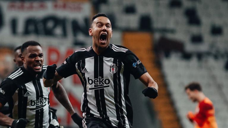 """Бешикташ е господарят на Истанбул, """"черните орли"""" сломиха Галатасарай"""