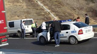 13 души са ранените във верижната катастрофа до Сандански