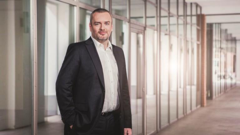 Снимка: Петер Копиец е новият изпълнителен директор на Загорка