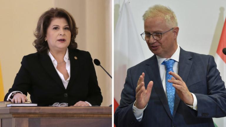 Предложените за еврокомисари от Унгария и Румъния окончателно отхвърлени от ЕП