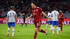 """Байерн (Мюнхен) взе нова жертва, този път баварците спечелиха """"само"""" с 5:0"""