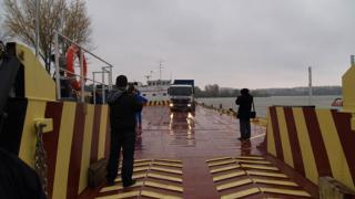 Фериботът от Никопол тръгва през юли