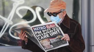 Борис Джонсън няма пневмония и е в стабилно състояние