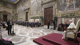 Папата призова ЕС към борба с популизма и връщане към идеите на основателите
