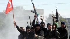 Турски танкове и изтребители навлязоха в Сирия
