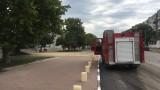 Наводнени са ремонтирани наскоро булеварди в Русе