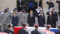 Франция се сбогува с Жак Ширак