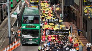 """Хиляди почетоха 30-та годишнина от събитията на """"Тянанмън"""" в Хонконг"""