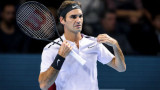 Роджър Федерер е на 1/4-финал в Париж