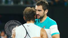 Марин Чилич елиминира Рафаел Надал на Australian Open 2018