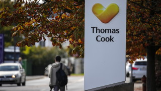 """Търговската марка на фалиралата """"Томас Кук"""" бе продадена за 13 млн. евро"""