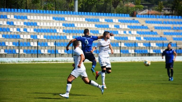 ФК Кюстендил победи Септември (Симитли) в последната контрола преди старта на Югозападната трета лига