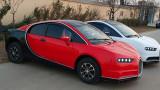 В Китай направиха електрическо Bugatti Chiron за $ 5000