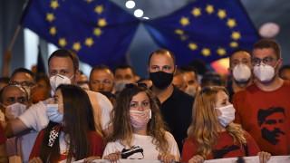 На митинг опозицията в С. Македония оспорва националността на Гоце Делчев
